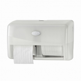 431002 - Europroducts Duo toiletrolhouder Pearl White