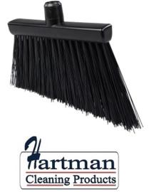 21410121-6 - FBK HCS Smalle bezem kleurcode HACCP 300 x 35 mm ,stijf zwart 20195