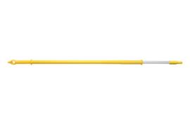 60661016-4 - FBK Aluminium kleurcode HACCP telescoopsteel met wateraansluiting Ø32 mm, 1720 mm x 2820 mm geel 29826
