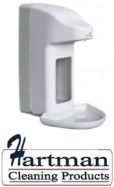 98813 - Zeep- & desinfectiemiddeldispenser automatisch kunststof 1000 ml + opvangschaal,MediQo-Line MQA10K