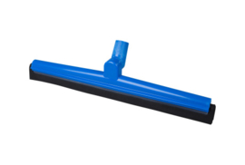19112119-2 - FBK HCS Vloertrekker met zwenkbare kop en vervangbare zwart rubber 500 mm, blauw 28556