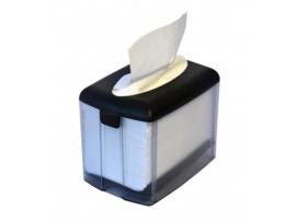 T01342 - Servetten System One Dispenser tafel Model, Grijs Transparant