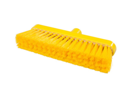 718151003-4 - Polyester FBK bezem vezels in hars gegoten kleurcode HACCP 280 mm x 48 mm zacht  geel 93147