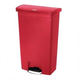GL032 - Rubbermaid pedaalemmer rood 68 ltr