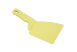 427141013 - Spatel polypropyleen kleurcode HACCP Metal + X-Ray dedecteerbaar 100 mm x 240 mm geel