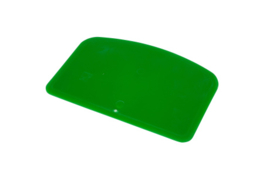 62080116 - Hoogwaardige kleurcode HACCP hygiënische deegschraper 146 x 98 mmgroen