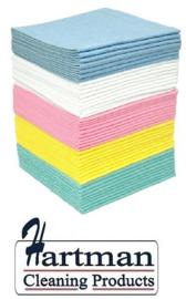 P42001 - Sopdoek blauw 140 gr/m2, a kwaliteit pluisarme doek Baal a 200 doeken