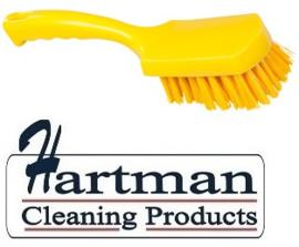 30530111-4 - FBK Handborstel kleurcode HACCP hoogwaardig medium vezel, 275 x 70 mm geel 10546