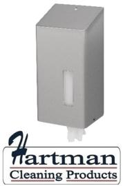 S1421090 - SanTRAL RVS Classic Mini handdoekrol Dispenser Afmeting 300 x 143 x 116 mm