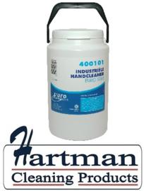 400101 - Euro industriele krachtige handreiniger, wit  6 x 3 Liter