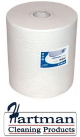 P53880 - Euro cellulose zwaar industriepapier op rol 1180mtr x 37cm 1-laags hoogwit, colli 1 rol EURO products