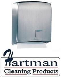 12822 - Handdoekdispenser RVS, DT0106CS Mediclinics