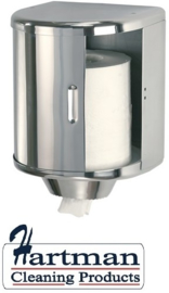 13662 - Poetsroldispenser RVS, DT0303CS