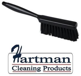 42030104-6 - Handveger FBK kleurcode HACCP 340 x 35 mm , hard zwart 42030104