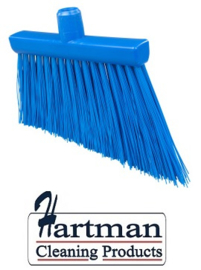 21410121-2 - FBK HCS Smalle bezem kleurcode HACCP 300 x 35 mm ,stijf blauw 20195