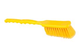 90030117-4 - FBK Afwasborstels polyester lange steel hoogwaardig kleurcode HACCP 410 x 55 mm gespleten zachte vezel geel 10231