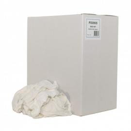P23905 - BADWIT - Badstof witte poetslappen 5 KG