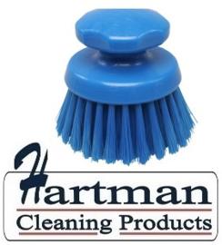23930130-2 - FBK Ronde handwerkborstel Polyester kleurcode HACCP ø 125 mm medium vezel blauw 54134