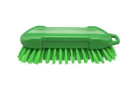 22530127-5 - FBK Polyester werkborstel kleurcode HACCP 210 mm x 65 mm harde vezel groen 54153