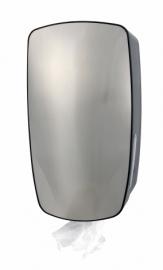 5750 - RVS/kunststof poetsrolhouder mini, PQXMiniC