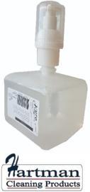 606404 - Euro Pearl foam soap 400 ml is een licht geparfumeerde handzeep voor dagelijks gebruik 6 x 400 ml