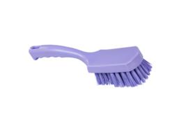 30530111-8 - FBK Handborstel kleurcode HACCP hoogwaardig medium vezel, 275 x 70 mm paars 105646