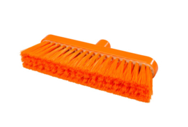 718151003-7 - Polyester FBK bezem vezels in hars gegoten kleurcode HACCP 280 mm x 48 mm zacht oranje 93147