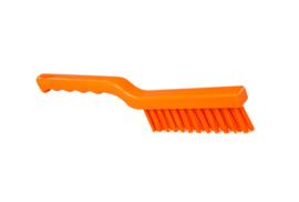 40030148-7 - FBK Hoogwaardige kleurcode HACCP hygiënische polyester machine / visborstel 275 x 20 mm, oranje 50153
