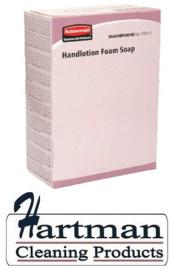 407001 - De Euro foam soap is een licht geparfumeerde handzeep 400 ml
