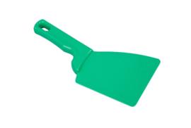 427141013 - Spatel polypropyleen kleurcode HACCP Metal + X-Ray dedecteerbaar 100 mm x 240 mm groen