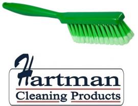 40530102-5 - Handveger FBK gespletenvezel kleurcode HACCP 340 x 35 mm ,zacht groen 10253