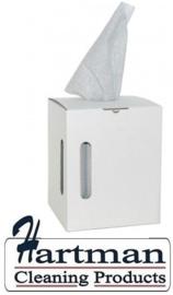 353864 - M-Wipe grijze doek in dispenserdoos met 390 vellen. Afmeting vel 38 x 30 cm EURO products