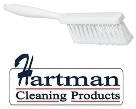 40530102-1 - Handveger FBK  gespletenvezel kleurcode HACCP 340 x 35 mm ,zacht wit 10253