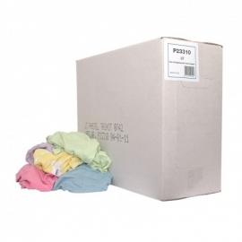 P23310 - Licht gekleurde dunne tricot poetslappen 10 KG