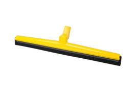 19612120-4 - FBK HCS Vloertrekker met zwenkbare kop en vervangbare zwart rubber 600 mm, geel 28656