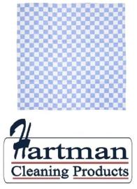 E578 - Theedoeken blauw Maten 65 x 65 cm.