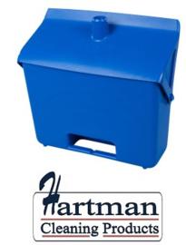 400101101-2 - FBK Hotelstofblik hoogwaardige kleurcode hygiënische polypropeleen blauw 80201