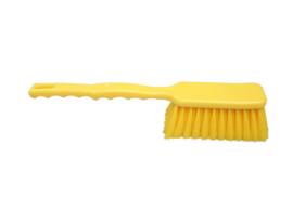 20030140-4 - FBK Broodborstel hoogwaardig polyester kleurcode HACCP 410 x 55 mm zeer zachte vezel, geel 51126