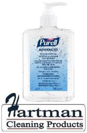 P9668-12 - Gojo Purell advanced handsanit. gel 12 x 500 ml pompflesje p/ds