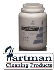 43000229 - Actisan - 5L chloortablet hoog geconcentreerd doseerbaar. pot 300 tablet á 2,7gr