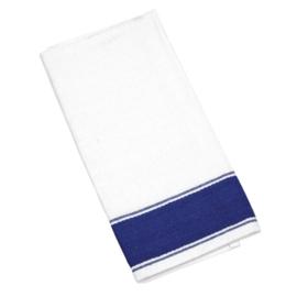 B478 - Olympia gastro servetten met blauwe rand 50(b) x 35(d)cm
