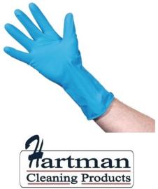 F953-S - Jantex huishoudhandschoenen blauw Maat S