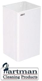 11063 - Afvalbak open 65 liter wit MEDICLINICS