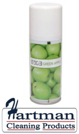490765 - Luchtverfrisser Aerosol, Green Apple 12 x 100ml vullingen per doos EURO products