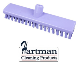 32510104-8 - FBK HACCP kleurcode schrobber met harde vezels geschikt voor hardnekkige reiniging van vloeren en wanden 300 x 60 mm, hard, paars 23153