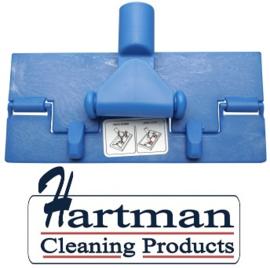 80070101-2 - FBK Vloerpadhouder hoogwaardige kleurcode HACCP hygiënische kunststof vloerpadhouder 230 x 100 mm blauw 27101