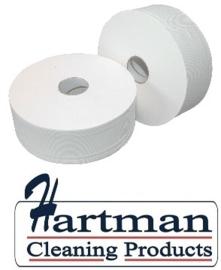 240050 - Toiletpapier Maxi Jumbo Rol 1-Laags 500 mtr - 6 rol p/pak
