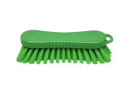 20030124-5 - FBK Polyester werkborstel kleurcode HACCP 210 mm x 70 mm medium vezel groen 10564