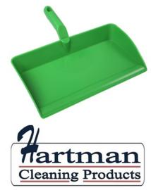 80090105-5 - FBK Stofblik ergonomisch hoogwaardige kleurcode HACCP hygiënische polypropyleen 300 x 310 mm  groen 80301