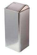11071 - Afvalbak hoogglans 80 liter gesloten MEDICLINICS